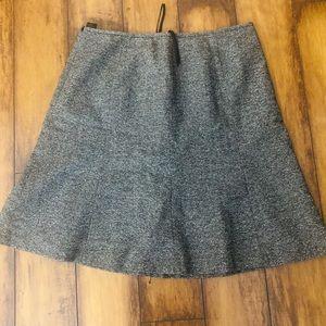 ALine Gray Skirt